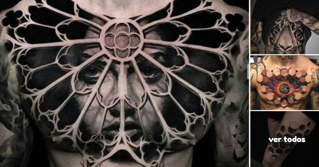Los 30 Tatuajes en 3D mas realistas que hemos encontrado