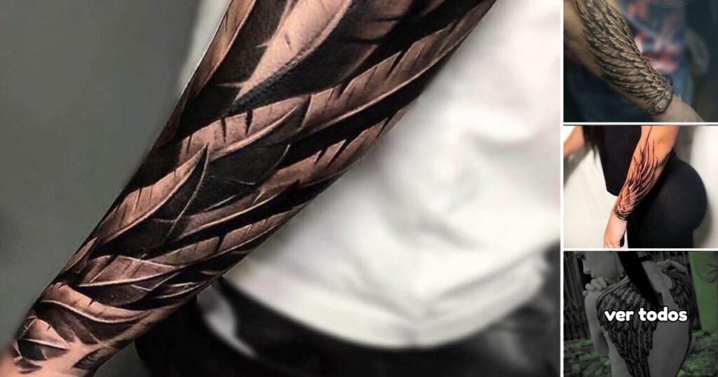 25 ideas increibles de Tatuajes con Alas para hombres y mujeres
