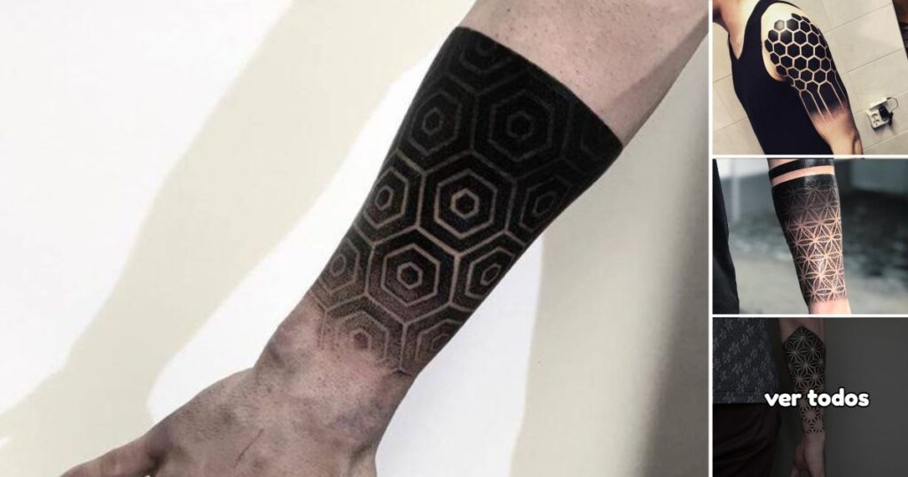 Los Mejores 30 Diseños de Tatuajes con Formas Geométricas