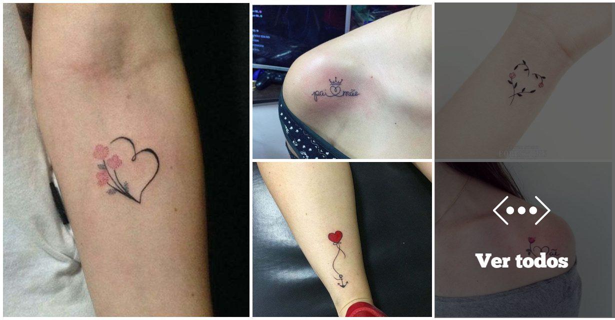 Las 35 Mejores Ideas de Tatuajes con Corazones para Chicas