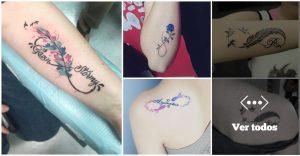 25 Ideas increibles de Tatuajes con Infinitos para hombres y mujeres