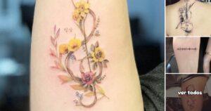 41 Tatuajes Inspirados en la Música