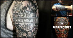 25 Tatuajes Harley Davidson