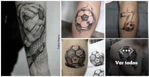 38 Tatuajes Inspirados en el Soccer
