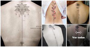 25 Tatuajes Para Mujeres en la Columna