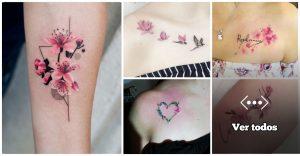 Estas 25 ideas de Tatuajes de Flor de Cerezo te haran querer uno en tu cuerpo