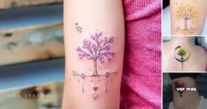 Ideas de Tatuajes Inspirados en los Árboles