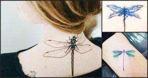 Hermosos tatuajes de libélulas y su poderoso significado