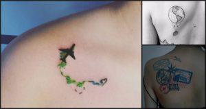 Tatuajes para los que aman viajar