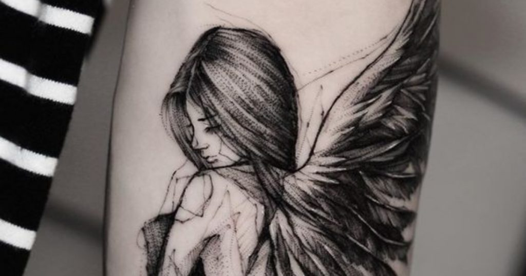30 Ideas de Tatuajes de ángeles: Diseños y Significado
