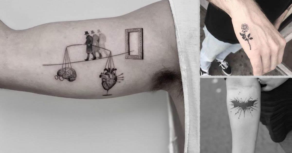 Tatuajes Pequeños y Originales para Hombre