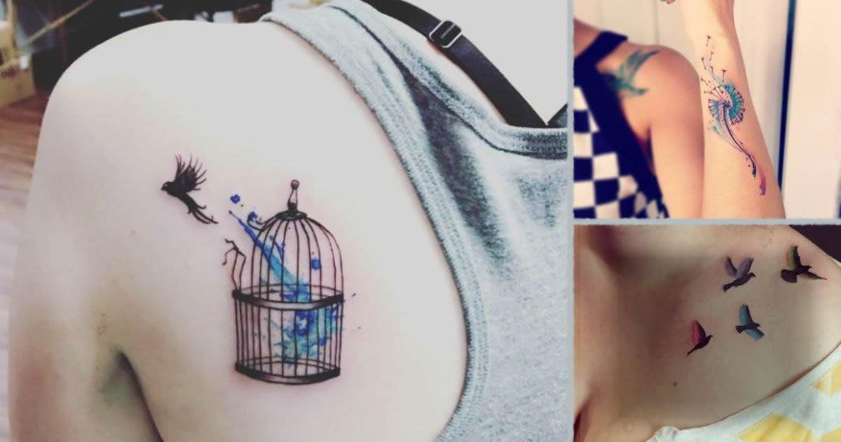 Tatuajes que representan un alma libre