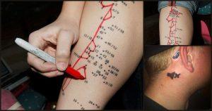 Ingeniosos Tatuajes con Mensaje Oculto