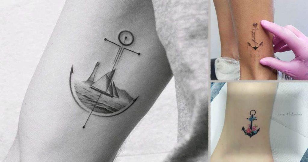 Tatuajes de anclas, imágenes, ideas y significados