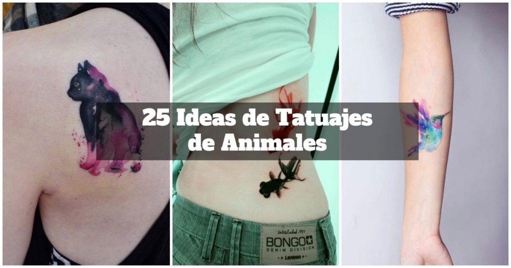 15 Ideas de tatuajes de animales para chicas