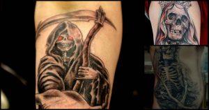 Tatuajes de la muerte