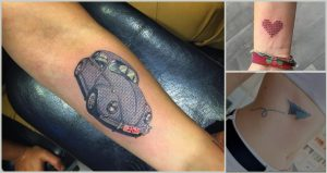 Tatuajes punto de cruz