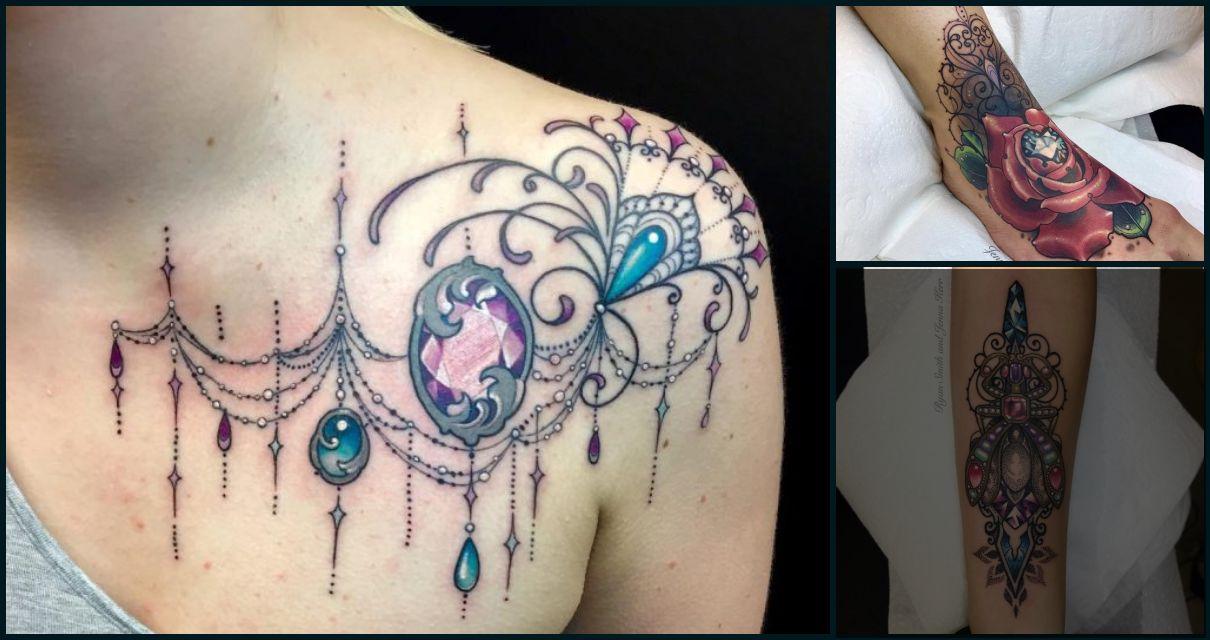 Tatuajes de Diamantes y Gemas
