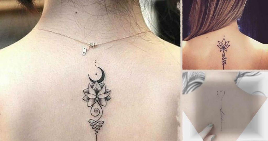 25 delicados tatuajes para la espalda