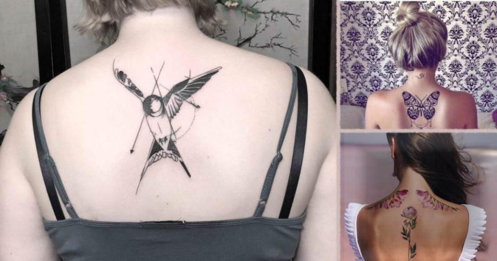 Tatuajes perfectos y femeninos para lucir en la espalda