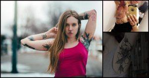 Tatuajes en la axila que se están convirtiendo en tendencia
