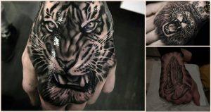 Asombrosos tatuajes en las manos