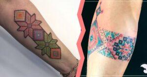 Tatuajes inspirados en el Arte Huichol