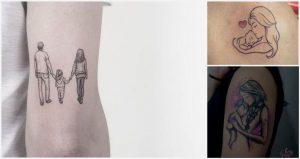 Tatuajes de Padres y Madres