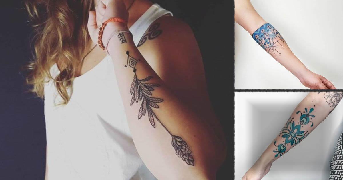 Tatuajes inspirados en el arte tribal del Amazonas