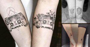 Tatuajes para parejas que están realmente enamoradas