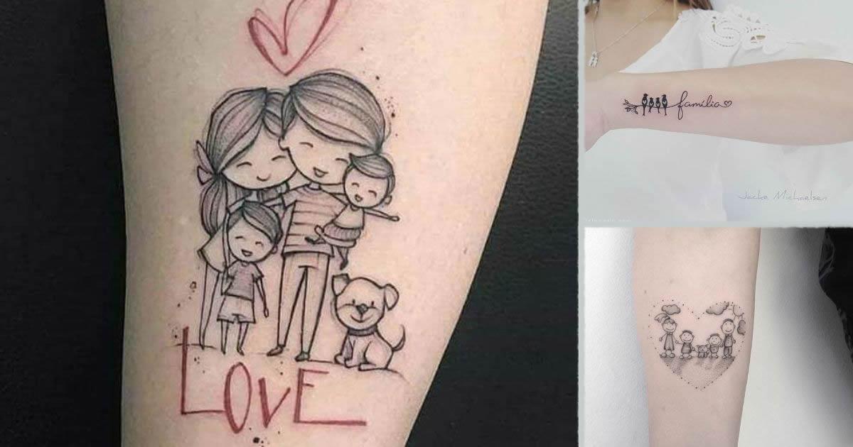 Tatuajes en Honor a la Familia