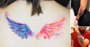20 Ideas de Tatuajes de Alas: Diseños y Significados