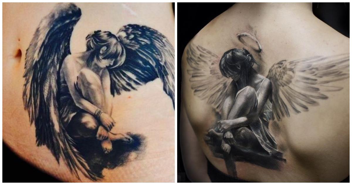 Tatuajes de ángeles: Diseños y Significado