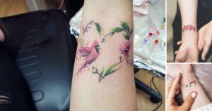 40 diseños delicados tatuajes en la muñeca para mujeres