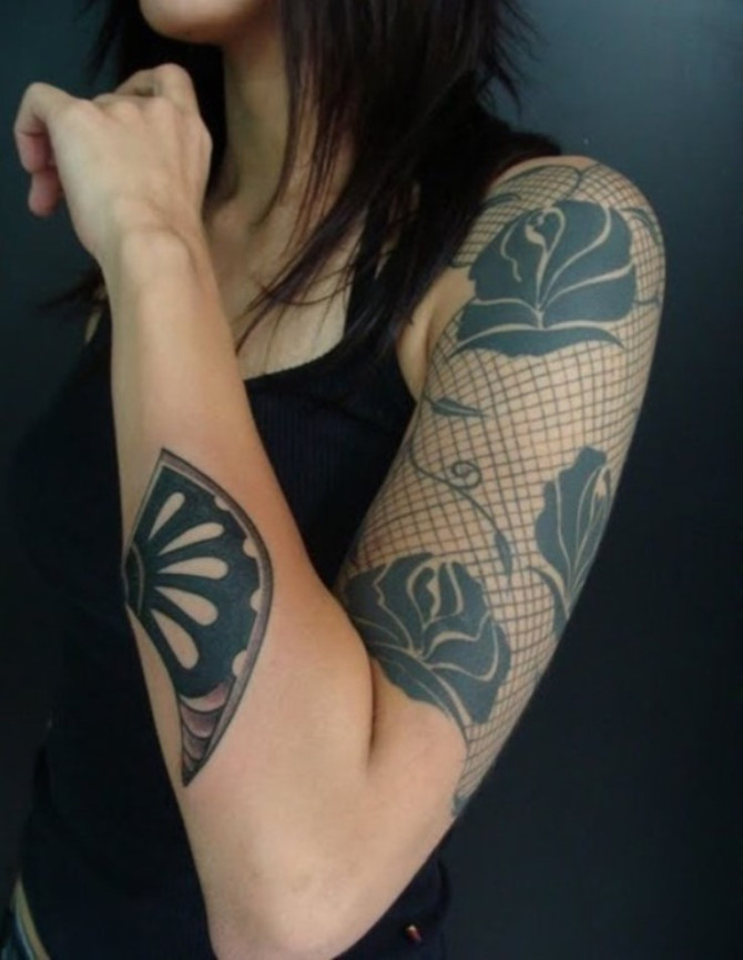 Half Sleeve Tattoo for Women - 20+ Sleeve Tattoos for Women <3 <3