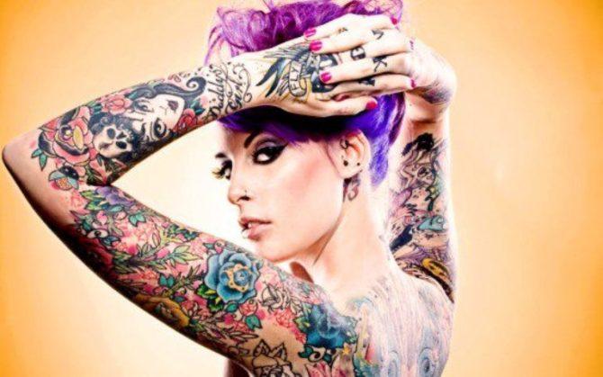 Rockabilly Tattoo for Women - 20+ Sleeve Tattoos for Women <3 <3