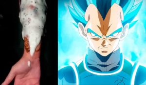 Se hace tatuaje 'ultra realista' de Vegeta y asombra a fans de Dragon Ball Super [VIDEO]