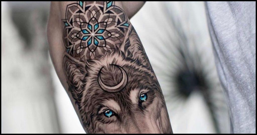 Timelapse: Tatuaje de Lobo Realista
