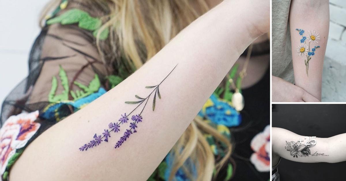 15 increíbles tatuajes en el brazo que todas las mujeres lucen bien