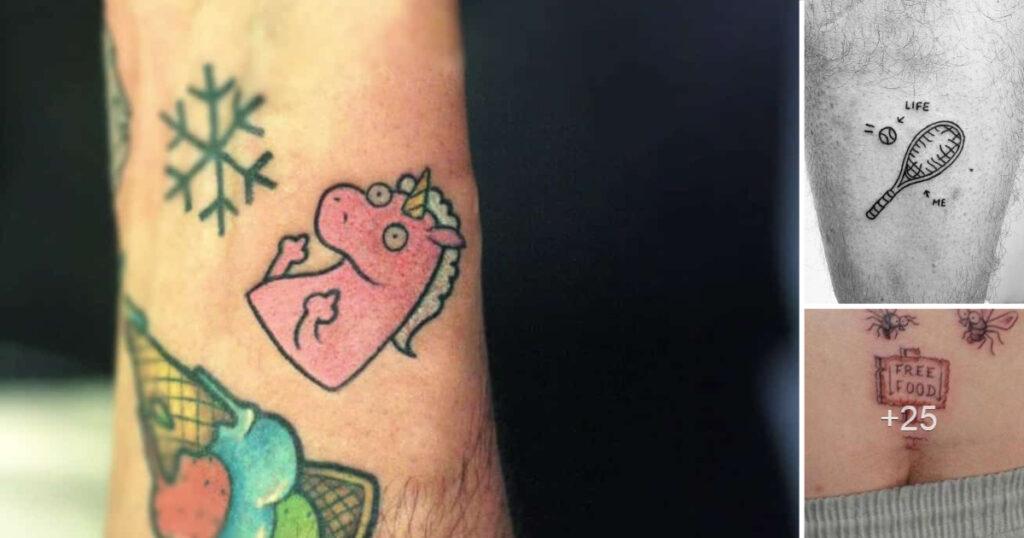 Top 30: Los Tatuajes Mas Creativos y Divertidos