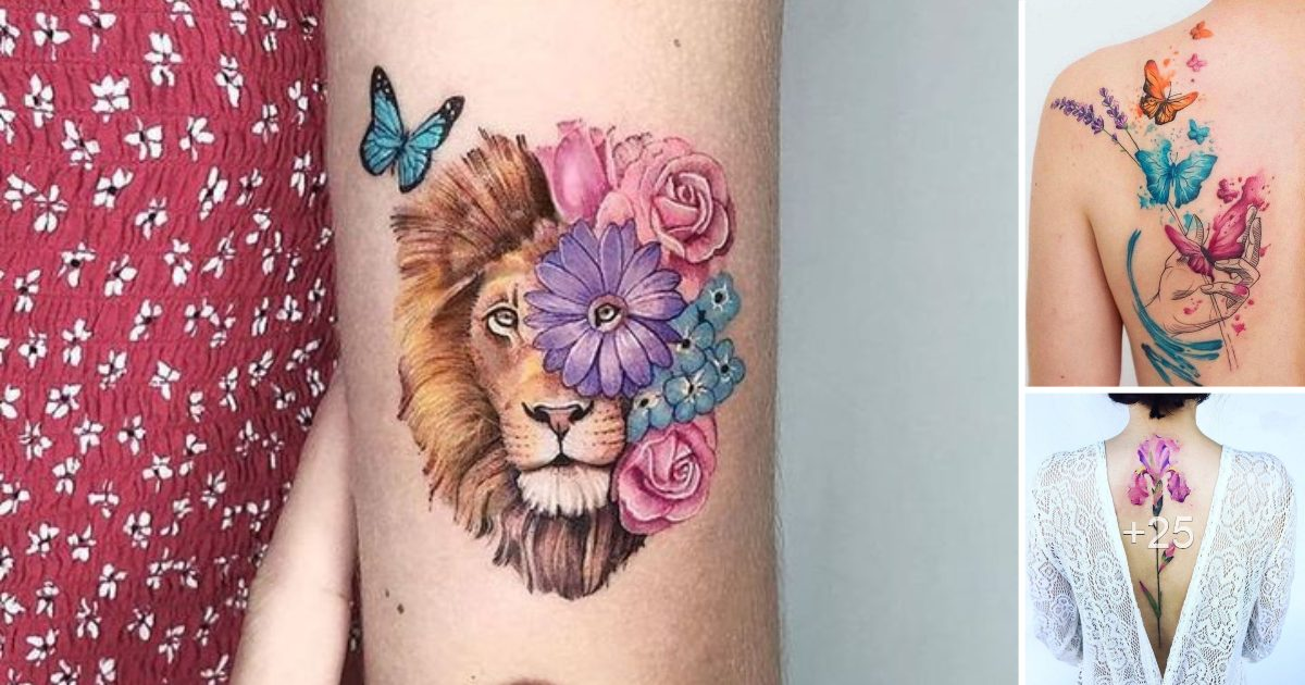 Las 40 Ideas mas hermosas de Tatuajes para Mujeres
