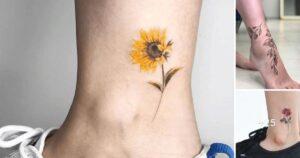24 Creativos Diseños de Tatuajes en el Tobillo