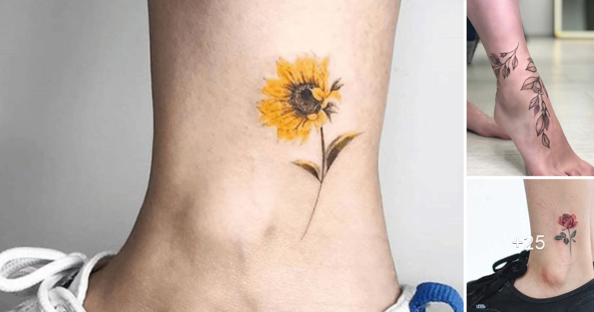 20 Diseños de Tatuajes Ideales para Tatuarse en el Tobillo