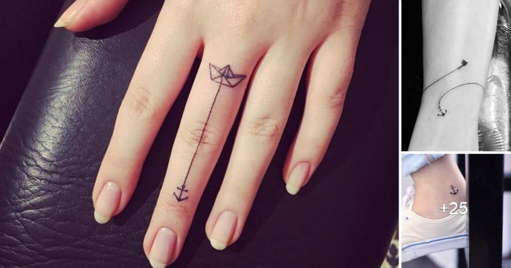 25 Diseños e Ideas de Tatuajes de Anclas y su Significado