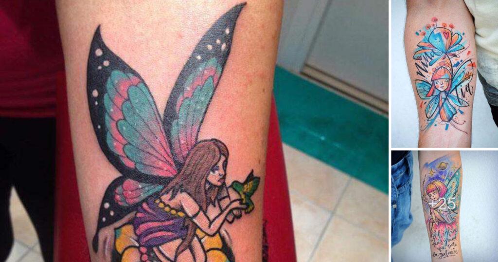 50 Ideas y Diseños de tatuajes de ninfas, hadas y otras criaturas