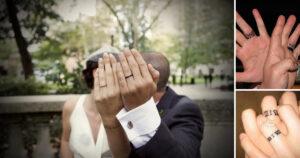 43 ideas de tatuajes de anillos de boda para parejas