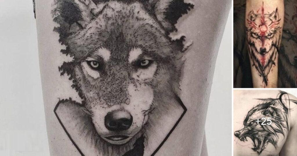 45 fotos inspiradoras de tatuajes de lobos y su significado