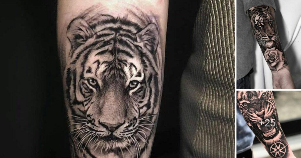 Las mejores ideas y diseños de tatuajes de tigres
