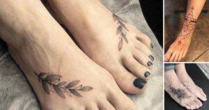 35 Discretos diseños de tatuajes en los pies
