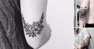 45 Originales y nuevos diseños de tatuajes en el codo